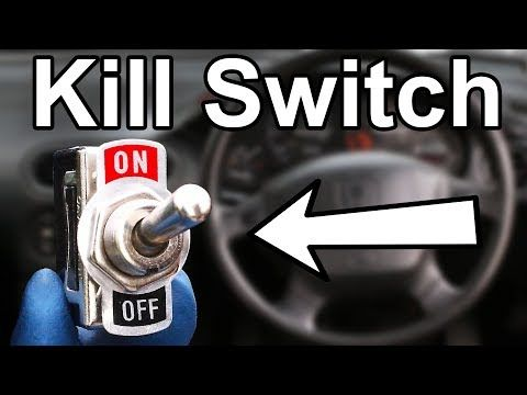 How To Install A Hidden Kill Switch In Your Car Or Truck Cheap
