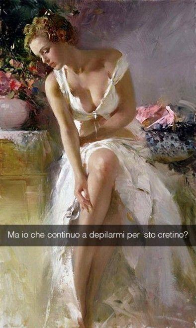 Se i quadri potessero parlare Angelica - Pino Daeni 1970 ca