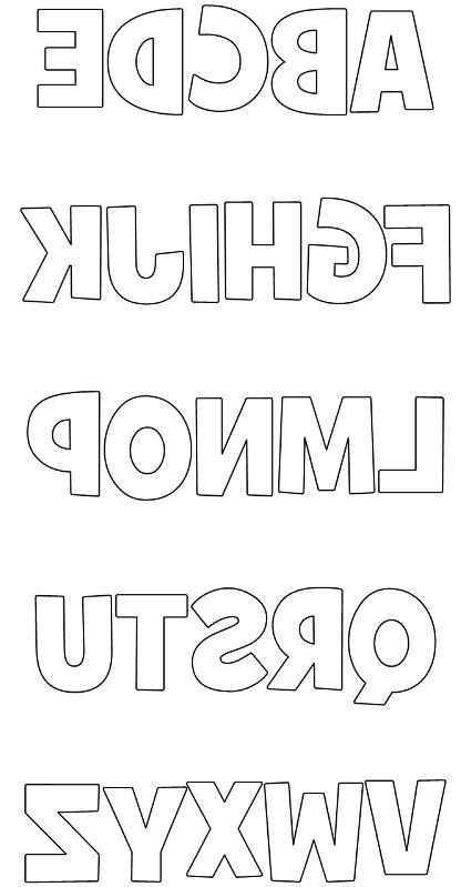 how to cut bubble letters