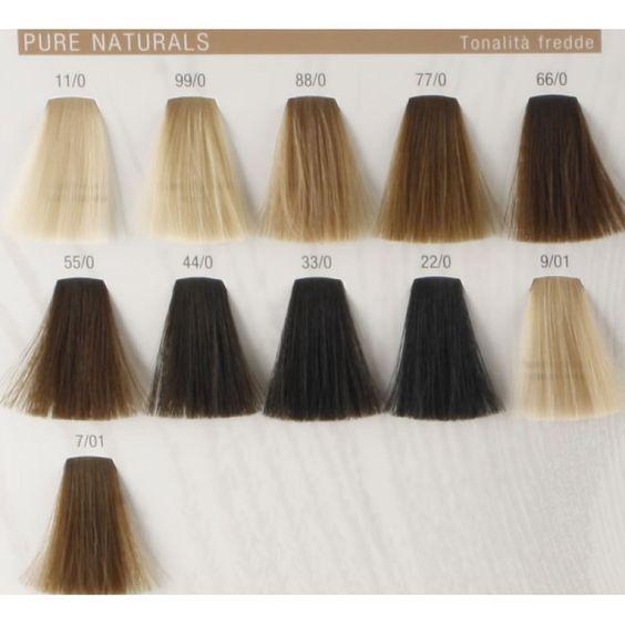Koleston Perfect Pure Naturals Cold Colours Hair