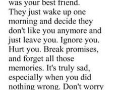 quotes about friends leaving you out