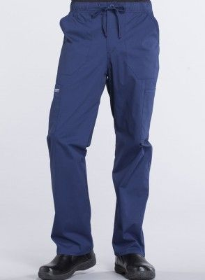 Pantalon Uniforme Medico Hombre Unicolor Cherokee Ww Professionals Ww190 Nav Health Company Uniformes Medicos Pantalon Con Lazo Uniformes