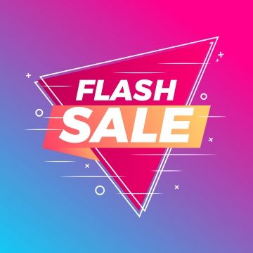 Flash Sale Banner Abstract Gradient Background Sign Icon Symbol Png And Vector With Transparent Background For Free Download Sale Banner Flash Sale Graphic Flash Sale