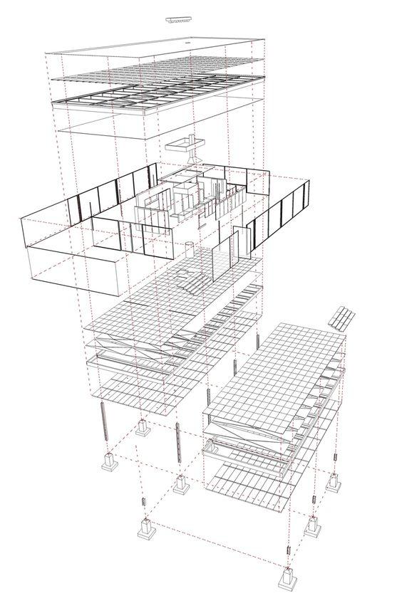 Baukunst: del enunciado teórico a su realización práctica en la Casa Farnsworth