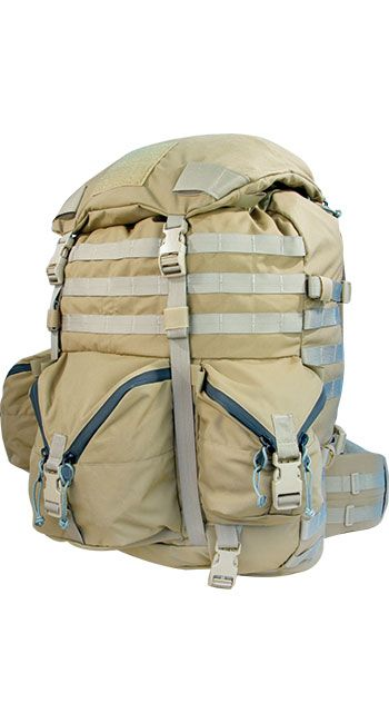 NICE MOUNTAIN RUCK BVS - The Mystery Ranch interpretation of the classic ALICE bag design designed for superior comfort with a removable Bolstered Ventilation and Stability (BVS) System.
