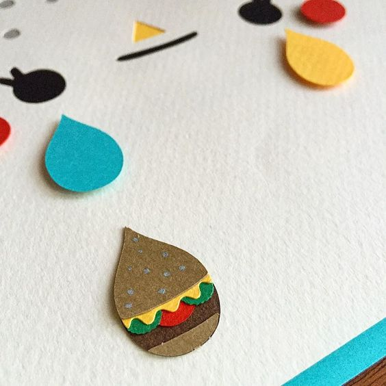 Tiny cheeseburger tears. #singletear  by monstromo