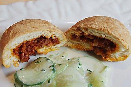Weiche Brötchen gefüllt mit Hackfleisch, ein schönes Rezept aus der Kategorie Brot und Brötchen. Bewertungen: 203. Durchschnitt: Ø 4,4.