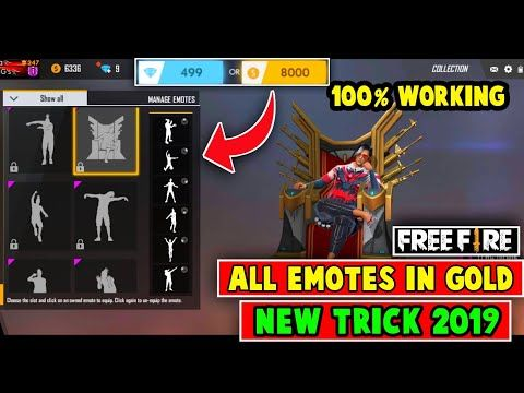 How To Get Free All Emotes In Free Fire 100 Working Free Fire Free Emotes By Today S Gamer You Diamond Free Free Gift Card Generator Gift Card Generator