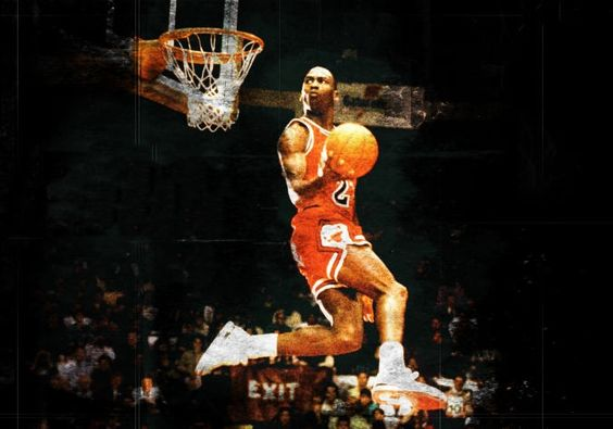 "Michael Jordan ""MJ"""