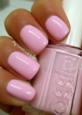 Essie Ballerina Pink nails