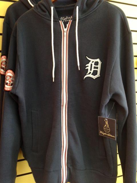 Detroit Tigers full zip hoodie