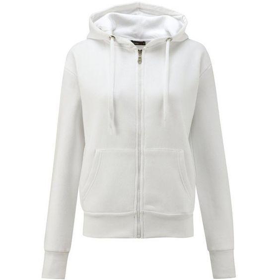 White hoodie women
