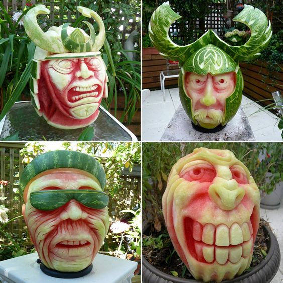 The Most Realistic And Amazing Watermelon Sculptures  The 30 Very Best Man-Made Artistic Masterpieces That You've Ever Seen • Page 3 of 6 • BoredBug