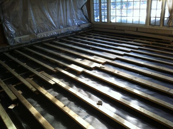 the o jays paper the floor wood floor installation felt plywood to the