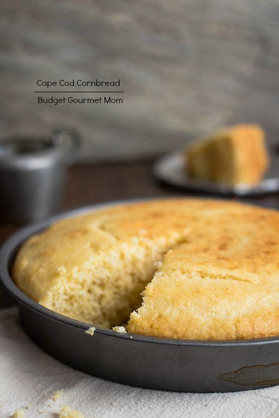 Cape Cod Cornbread Recipe www.budgetgourmetmom.com #cornbread #baking ...