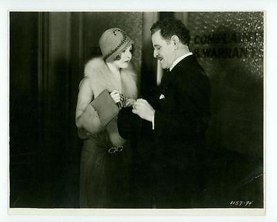 "RARE NANCY CARROLL ORIGINAL STUDIO PHOTO ""MANHATTAN COCKTAIL"" LINEN LOST 1928"