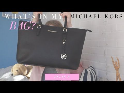 WHAT'S IN MY MICHAEL KORS JET SET TOTE?