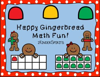 Happy Gingerbread Math Fun has everything you need to help your students have fun learning numbers 1-20, addition and subtraction. You can use buttons, pom poms, erasers, bows, play dough or the counters in the packet.   Included are the following: 1-10 Happy Gingerbread Ten Frames in color/bw11-20 Cookie Sheet Counting Mats 1-10 Happy Gingerbread Ten Frame Puzzles Addition Mats using a 5 Frame color/bwSubtraction Mats using a 5 Frame color/bwAddition Mats using a 10 Frame…