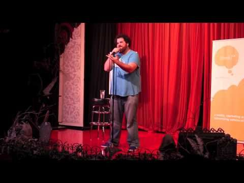 Performing for the LA ad community at the Comedy Store