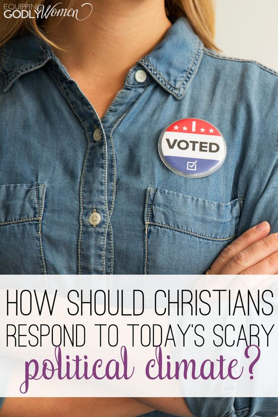 How Should Christians Respond to Today's Scary Political Climate?