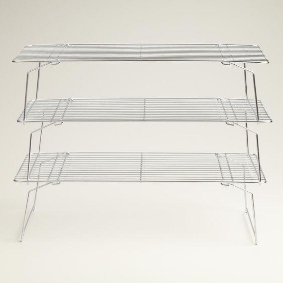 3-Tier Stackable Cooling Rack | World Market