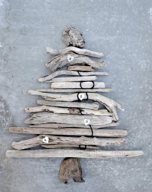 Christmas tree, wood | Xmas decoration . Weihnachtsdekoration . décoration noël l | Design: basichus  |