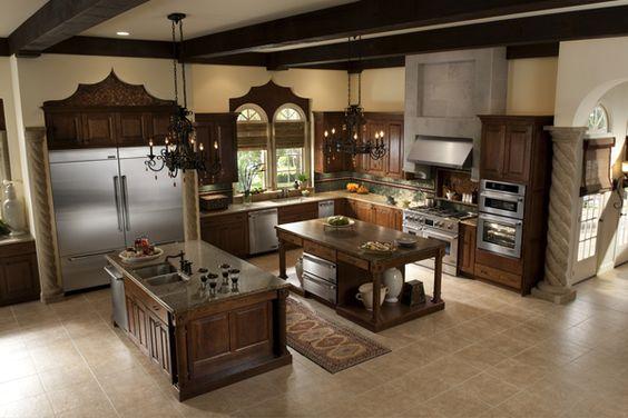 Cozinha rústica com móveis modernos. Para provar que bom gosto é contemporâneo.