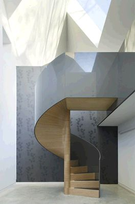 Spiral / spiralne schody  Możemy wykonać dla Ciebie taki projekt: zapraszamy na www.loftstudio.pl