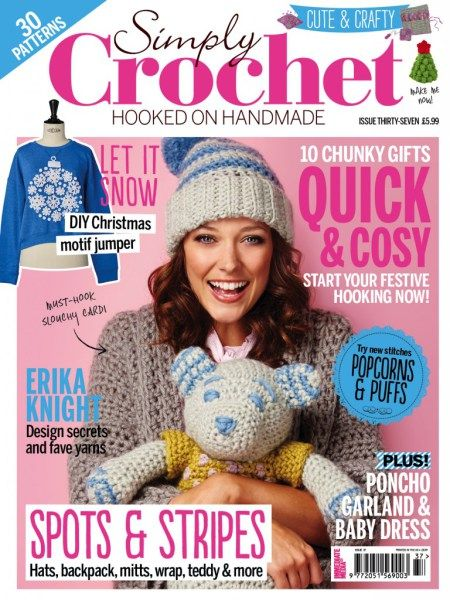 Simply Crochet Magazine Issue 37 Spots and stripes