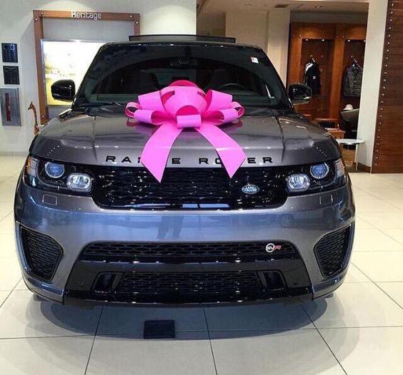 Charcoal grey Range Rover
