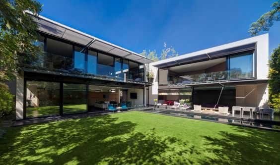 Casa Dalias in Mexico City, Mexico by Grupo Arquitectura via @HomeDSGN