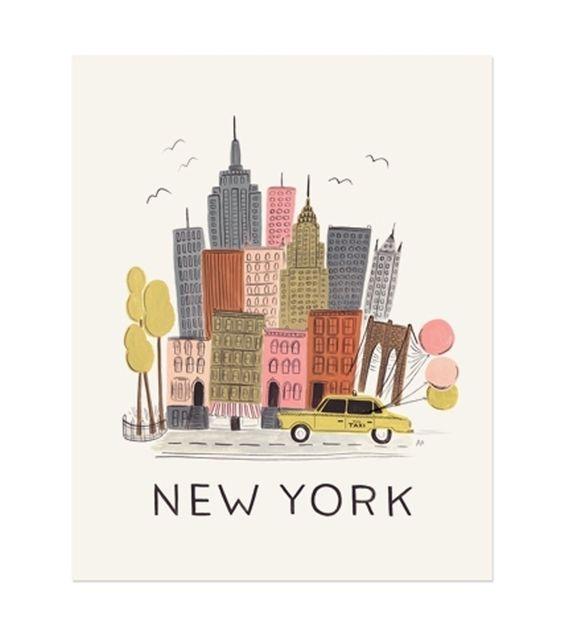 catbird::Rifle::New York Print - NEW!