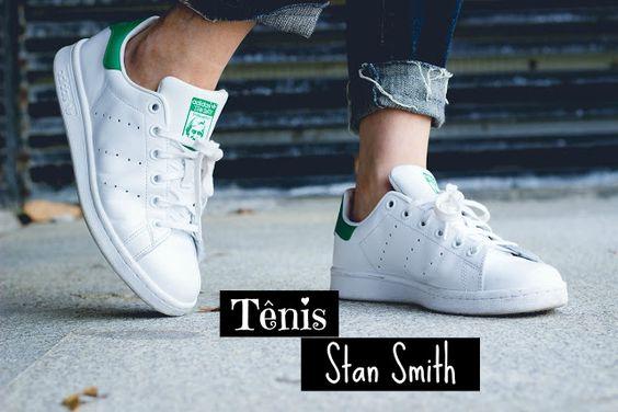 Suene Fernandes: Moda: Tênis Adidas: Stan Smith.