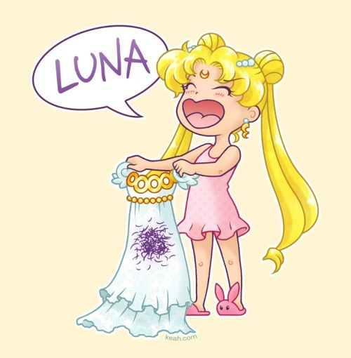 Sailor moon white dress