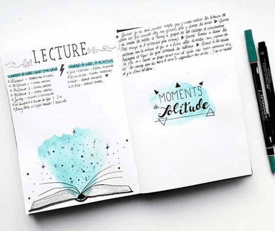 Comment utiliser l'aquarelle dans son Bullet Journal ?