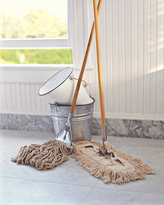 Even with the best precautions, some dirt will get in, and once it does, the best remedy is a good mopping. Cleaning is an endless cycle, and floor care may be the most relentless, but a little vigilance goes a long way.