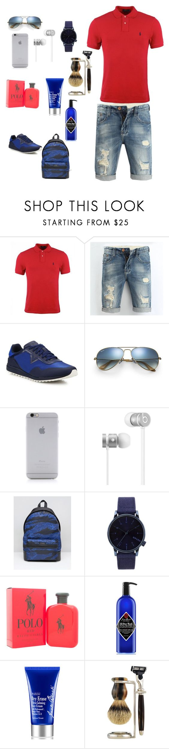 """sport❤️"" by mary-tshoy ❤ liked on Polyvore featuring Polo Ralph Lauren, Diesel, Ray-Ban, Native Union, Beats by Dr. Dre, Komono, Ralph Lauren, Jack Black, The Art of Shaving and men's fashion"