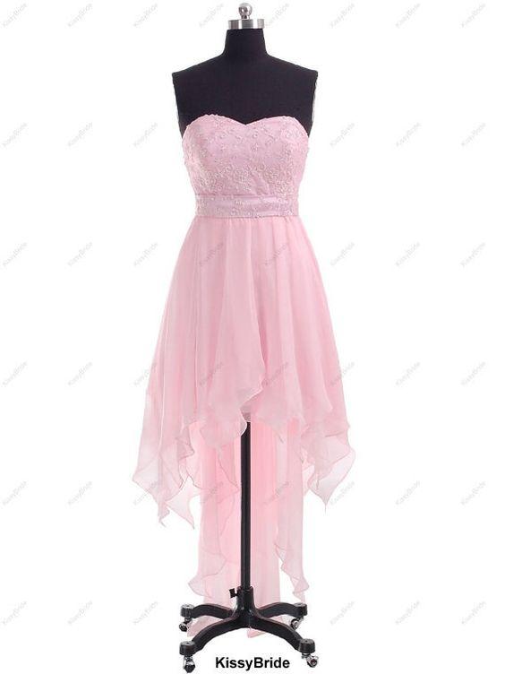 Pink prom dress - long prom dress / pink evening dress / chiffon prom dress / long evening gown / pink party dress / homecoming dress by lina.wei.5682
