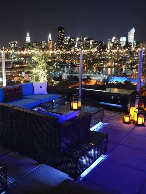 Le bain rooftop in nyc usa usa canada pinterest for Bain new york