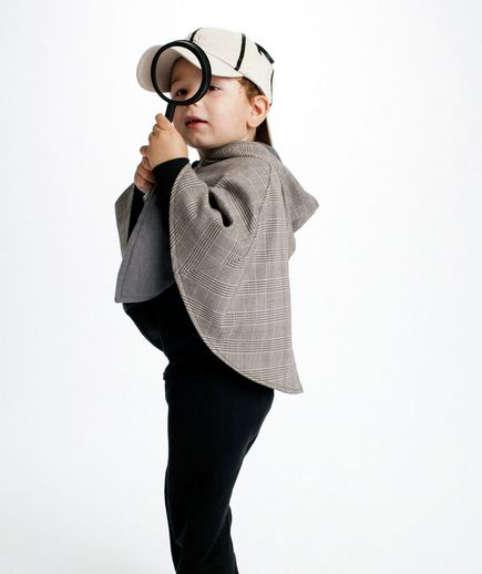 Detective costume via @Real Simple
