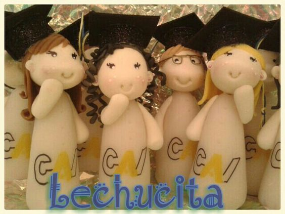 Graduaditos en porcelana fría♡