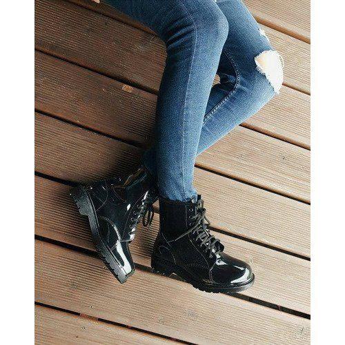 Kalosze Glany Trapery Mdx Czarny Czarne Air Max Sneakers Nike Air Max Sneakers Nike