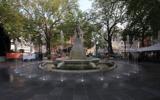 Shakespeare Fountain - Leicester Square - Water Feature