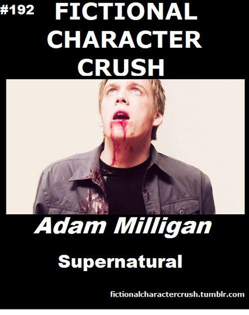 Fictional Character Crush - #192 - Adam Milligan from Supernatural I miss Adam... :'(