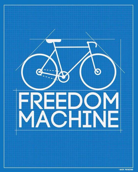 Fahrrad fahren bedeutet Freiheit  #freedom #freiheit #machine #rad #fahrrad…