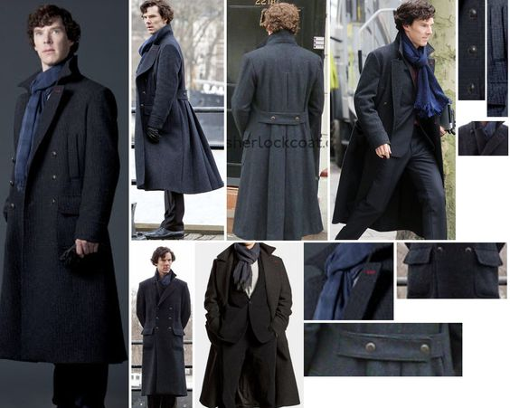 SHERLOCK HOLMES COSPLAY REFS AND HELP! High resolution pics and references for Sherlock Holmes cosplay. Also links to find merchandise and replicas.