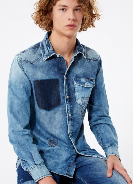patchwork denim collection from Pepe Jeans @pepejeans #style