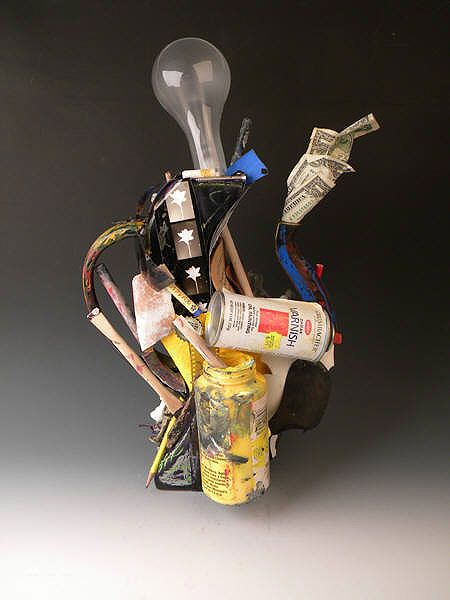 Artists' Teapot by Michael Boroniec
