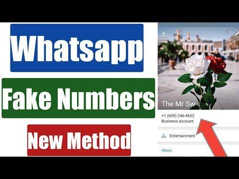 Whatsapp Fake Numbers How To Create Fake Whatsapp Account With Fake Mo In 2020 Fake Number Accounting Increase Facebook Likes