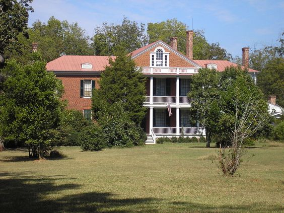 Gilbert-Alexander House in Wilkes County, Georgia.